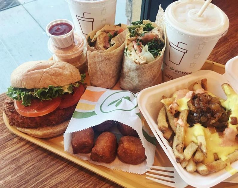 Plant Power Fast Food in Redlands CA
